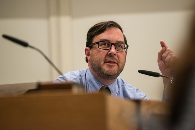 City Council President Ben Stuckart - DANIEL WALTERS PHOTO