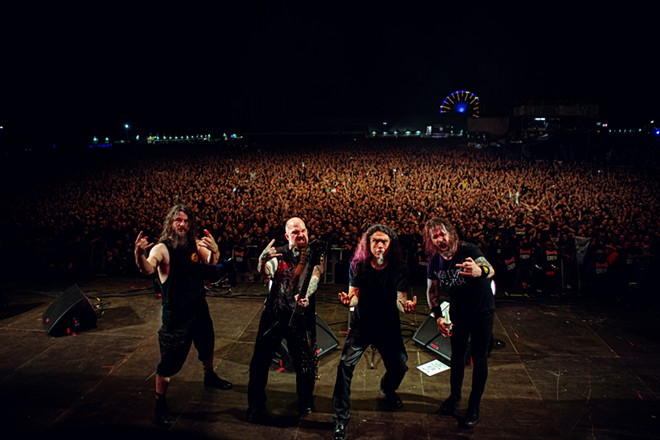 Slayer - TIM TRONCKOE PHOTO