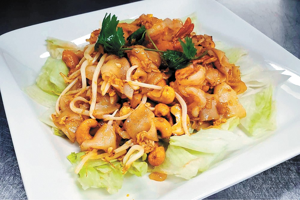"""Kuni's food is """"Thai-style"""" and includes nontraditional dishes with a Thai flair."""