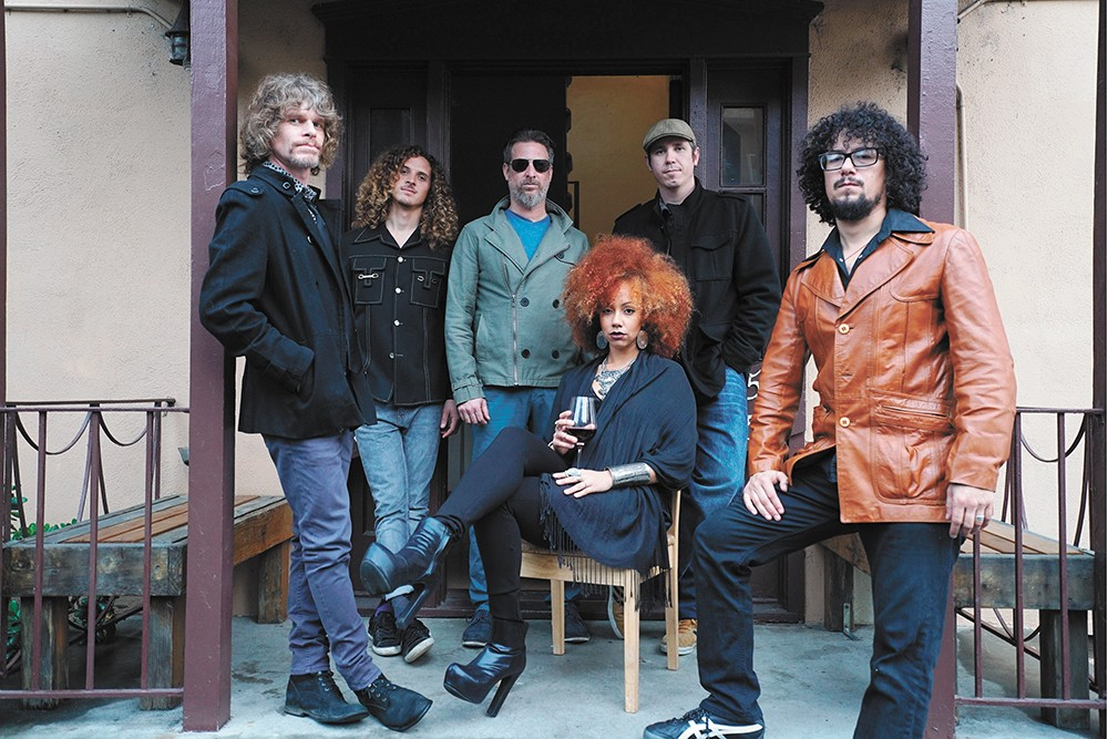 Orgone brings its rock-funk fusion to this weekend's Rendezvous in the Park. - RYAN CHIN PHOTO