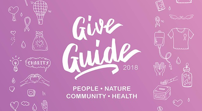 THE INLANDER'S 2018 GIVE GUIDE ARTWORK