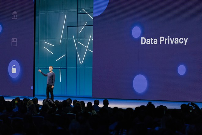 Mark Zuckerberg, Facebook's chief executive, speaks at F8, the company's annual developer conference in San Jose, Calif., May 1, 2018. Facebook on July 24, 2019, was ordered to create new layers of oversight for its collection and handling of users' personal data by the Federal Trade Commission, as the agency detailed a privacy settlement with the social network that signals Washington's newfound energy in reining in powerful technology companies. - JASON HENRY/THE NEW YORK TIMES