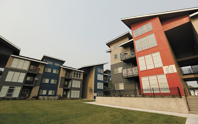 A large, new apartment development in Spokane Valley. - YOUNG KWAK PHOTO