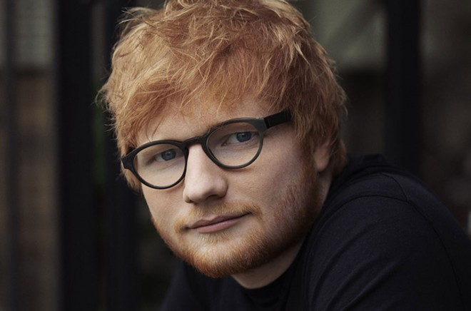 Ed Sheeran sometimes sounds like odd man out on his own new record. - MARK SURRIDGE