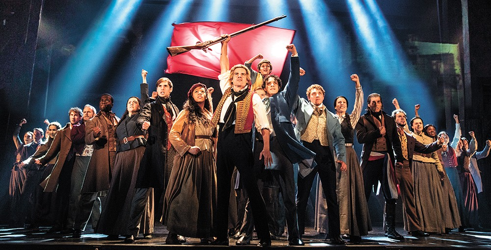 Trials, triumphs (and great songs) fill Les Mis. - MATTHEW MURPHY PHOTO