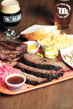 Ribs, brisket, beer and all the fixin's at TTs Old Iron Brewery & BBQ. - YOUNG KWAK PHOTO