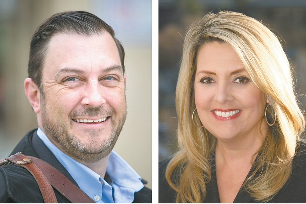Mayoral frontrunners Ben Stuckart and Nadine Woodward can point to numerous co-workers who loved working with them — but others say they've seen the candidates' less smiley sides.