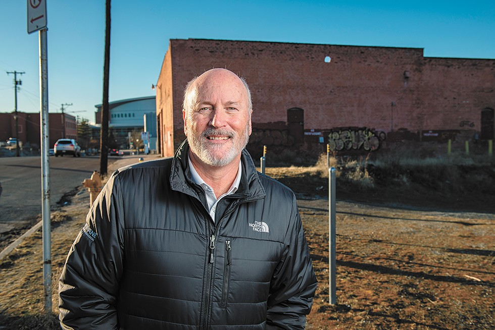 """If Spokane waits too long to build the Sportsplex, """"we'll get left behind,"""" argues Spokane Sports Commission CEO Eric Sawyer. - YOUNG KWAK PHOTO"""