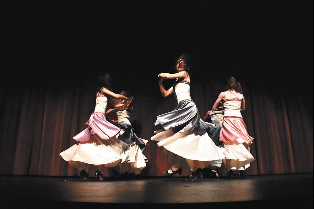 Dancers from Quiero Flamenco will perform at The Bing Sunday.