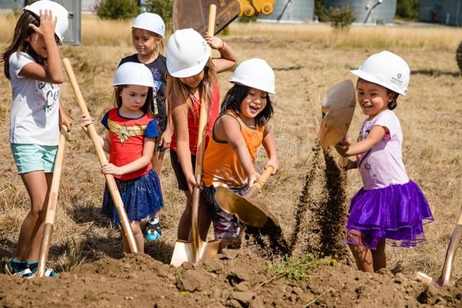 Left to right: Carlee Colman, Hazel Mahoney, Ryanna Ortivez, Sadie Leo, Jacob Leo, Amira Sepulveda. - JEROME POLLOS PHOTO