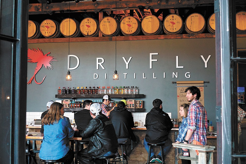 The Dry Fly Tasting Room - CHRIS LOZIER PHOTO