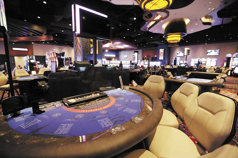 The Spokane Tribe's new casino opened January 2018.