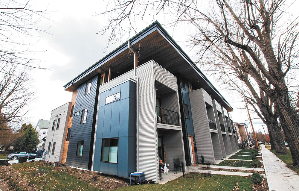 Browne's Addition developments like this one, featuring modern designs, have sparked the historic neighborhood to push for a slew of new exterior design standards. - DANIEL WALTERS PHOTO