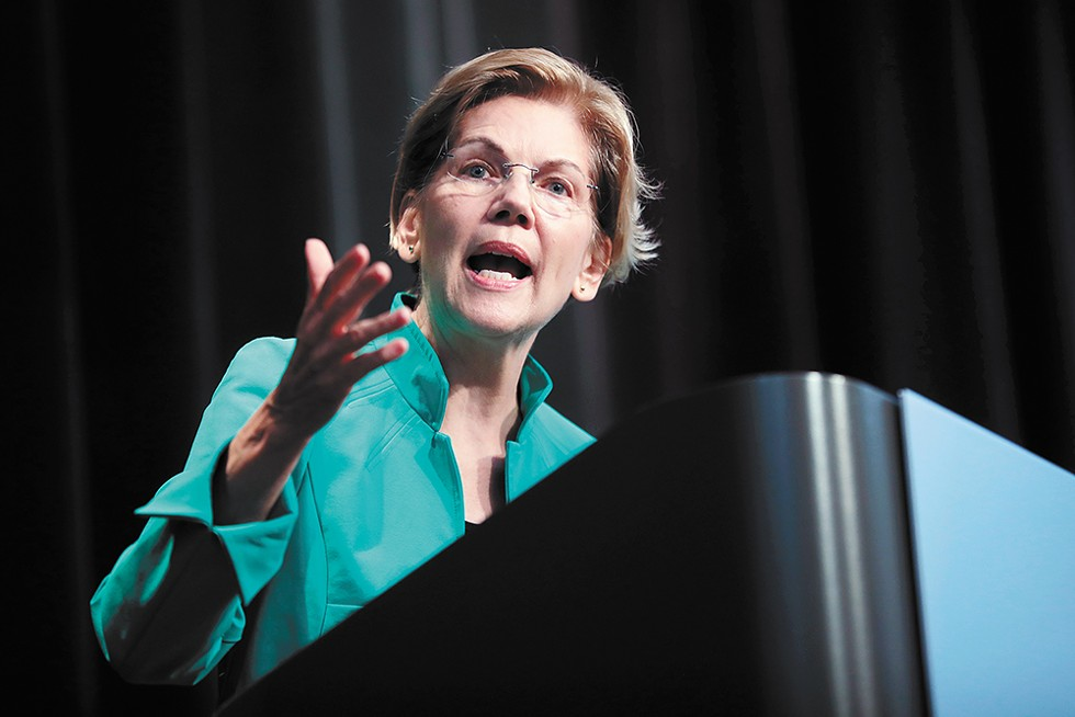 Elizabeth Warren was a Republican until the mid-1990s. - GAGE SKIDMORE PHOTO