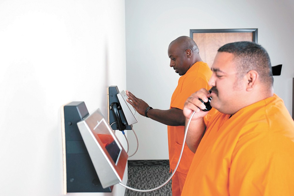 Video visitation technology is increasingly prevalent inside America's correctional facilities. - GTL PHOTO