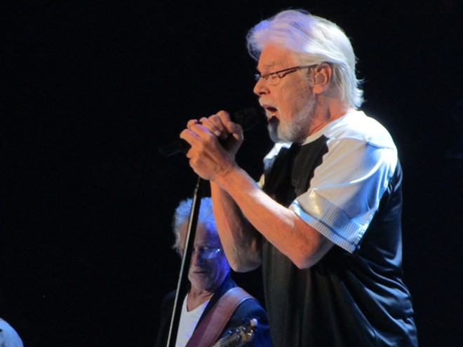 Bob Seger delivered the goods Thursday night at Spokane Arena. - DAN NAILEN PHOTO