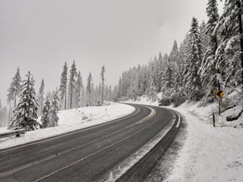 Sherman Pass in Ferry County. - WASHINGTON STATE DEPARTMENT OF TRANSPORTATION PHOTO