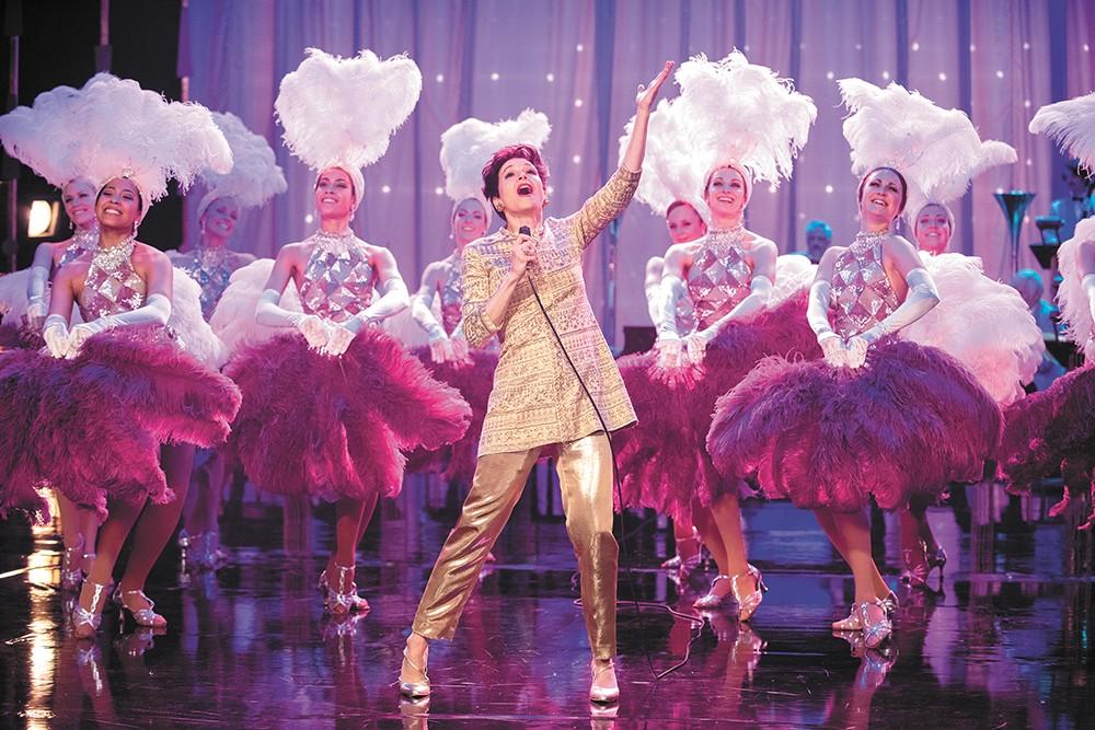 She got rhythm: Judy Garland gets the standard biopic treatment, though Renee Zellweger plays her beautifully.