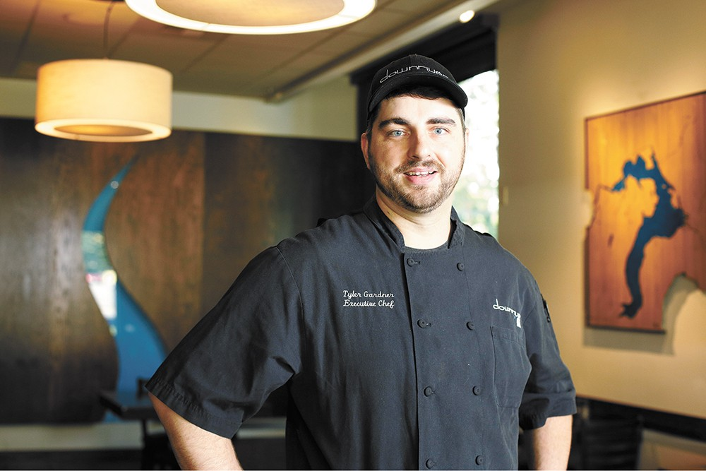 Downriver Grill Executive Chef Tyler Gardner. - YOUNG KWAK PHOTO