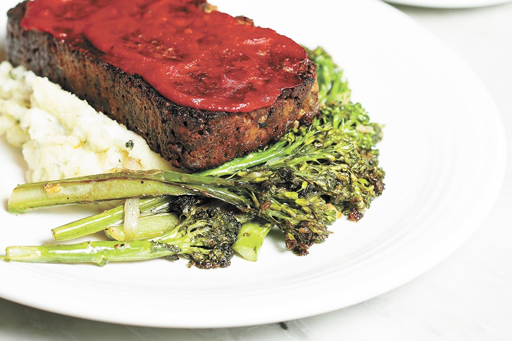 "Mizuna's veggie and grain-based ""meatloaf"" can satisfy even staunch carnivores. - YOUNG KWAK PHOTO"