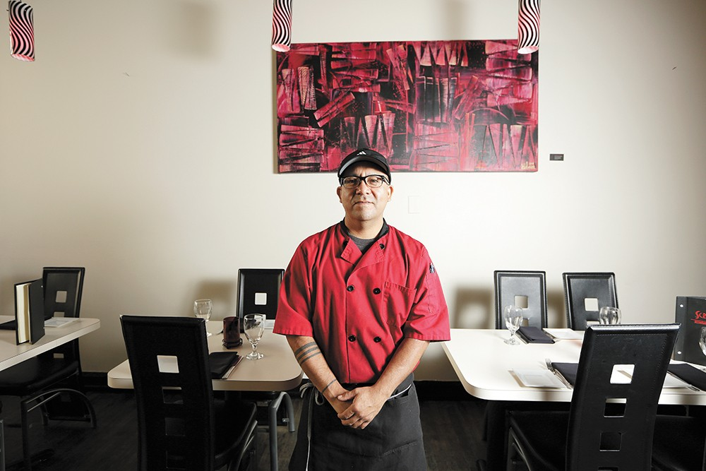 Chef Sil Hernandez enjoys the opportunity to incorporate flavors from his Oaxacan heritage to create new combinations at Spokane's Scratch restaurant. - YOUNG KWAK PHOTO