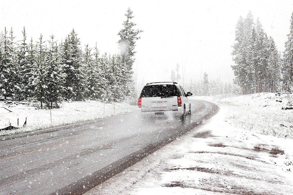 The first snow brings to mind excitement — and all those death-defying drives.