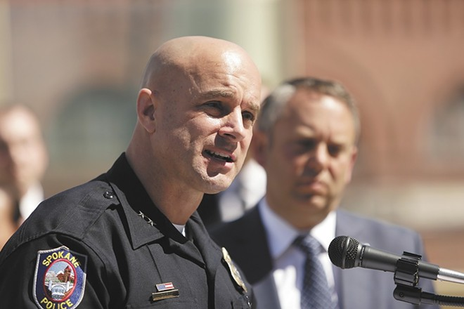 Spokane Police Chief Craig Meidl - YOUNG KWAK