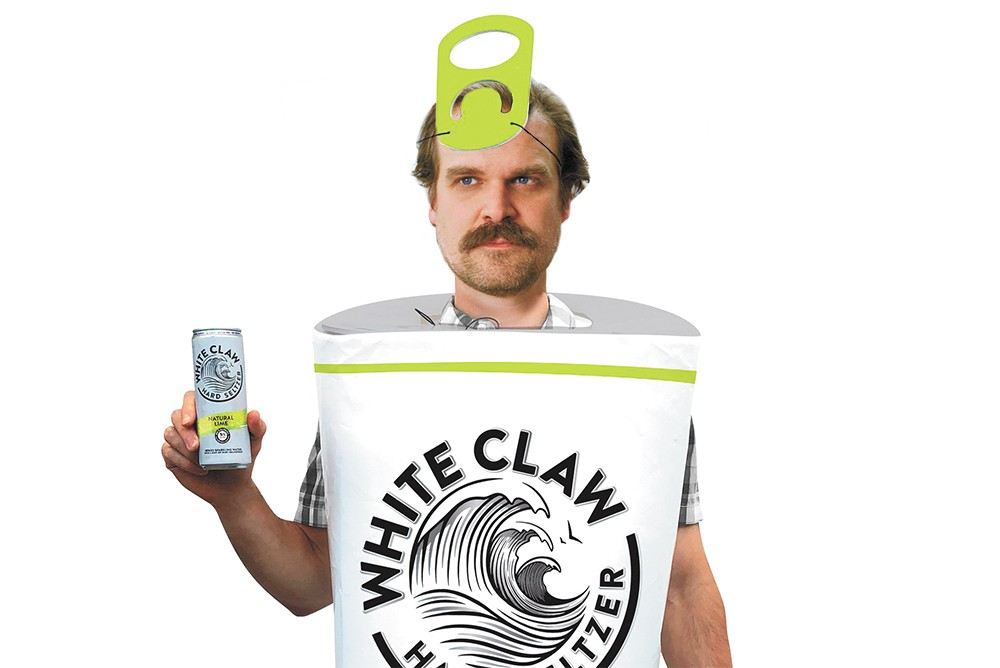 Even Chief Hopper knows that there's no laws when you're drinking Claws.