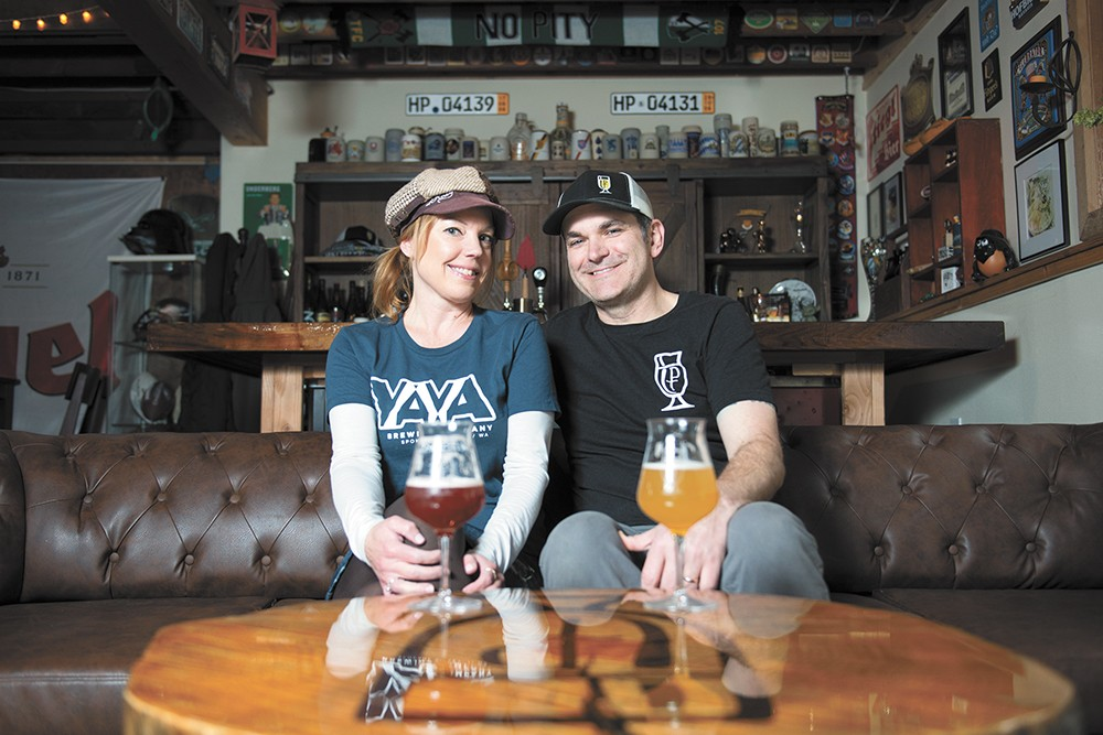 Candace and Jeff Clark of Precious Things Fermentation. - DEREK HARRISON PHOTO