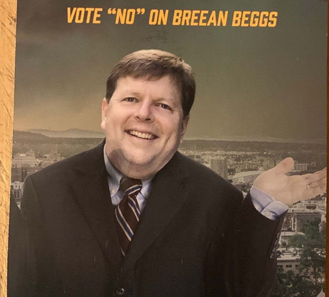 Lately, you don't even recognize Breean Beggs? That's because that's not his body. - MAILER PAID FOR BY THE COMMITTEE TO ELECT CINDY WENDLE