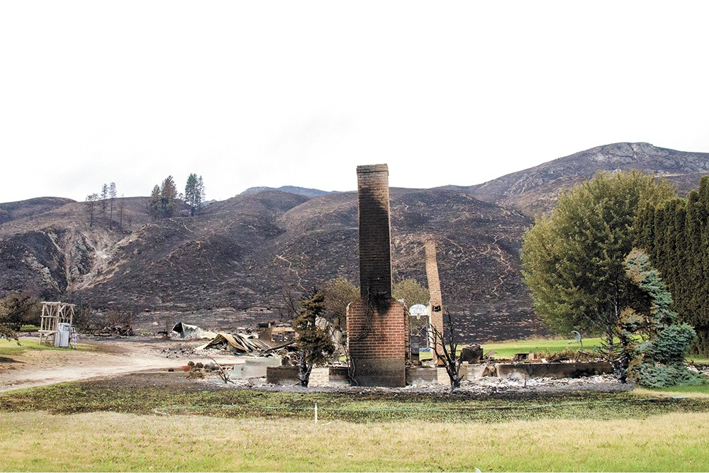 At the time, the 2014 Carlton Complex wildfire in north-central Washington was the largest in state history. The following year, though, the Okanogan Complex fire broke the record yet again. - JACOB JONES PHOTO
