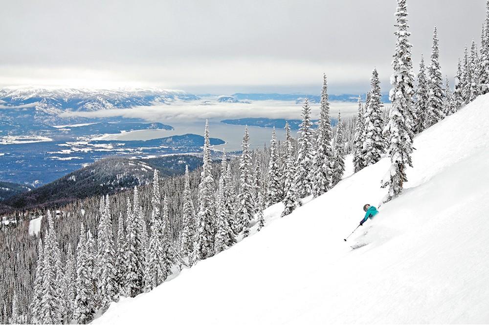 On the author's to-ski list: Schweitzer Mountain. - SCHWEITZER MOUNTAIN RESORT PHOTO