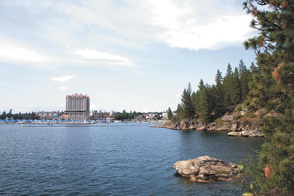 With tourism as strong as ever on Lake Coeur d'Alene, political tides are turning in favor of addressing metal contamination there. - ANNIE KUSTER PHOTO