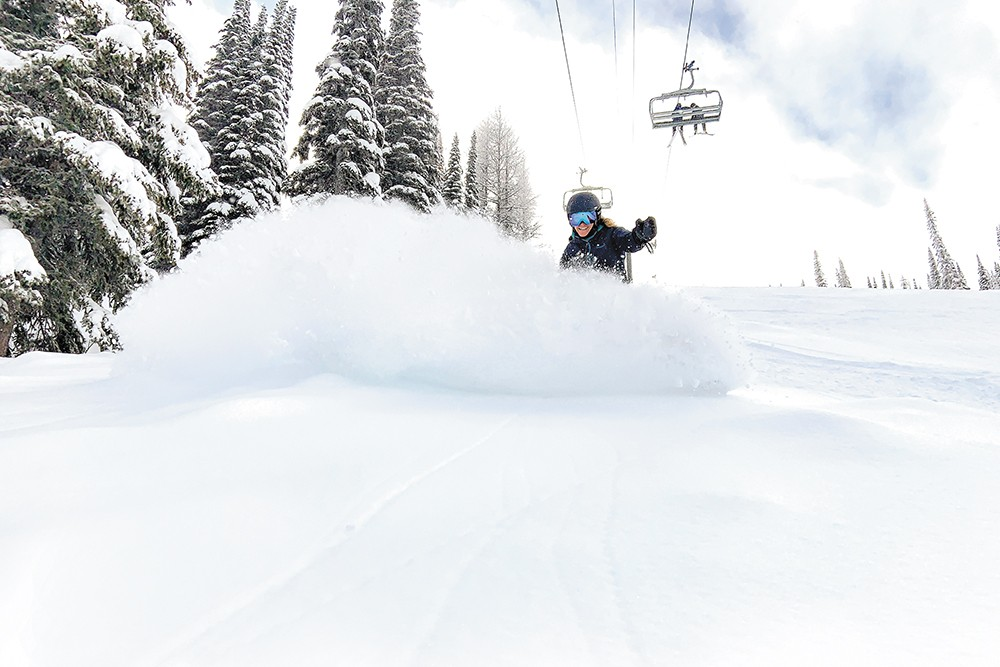 SCHWEITZER MOUNTAIN RESORT PHOTO