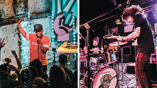 Jango (left) and Indian Goat co-headline at Lucky You this Friday. - ERICK DOXEY PHOTO/ALICIA HUFF PHOTO