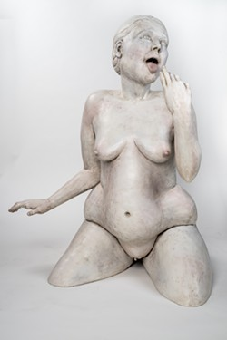 "The statue ""Sated"" sparked a sexual harassment complaint from a city employee. - SCULPTURE BY STEPHANIE DISHNO"