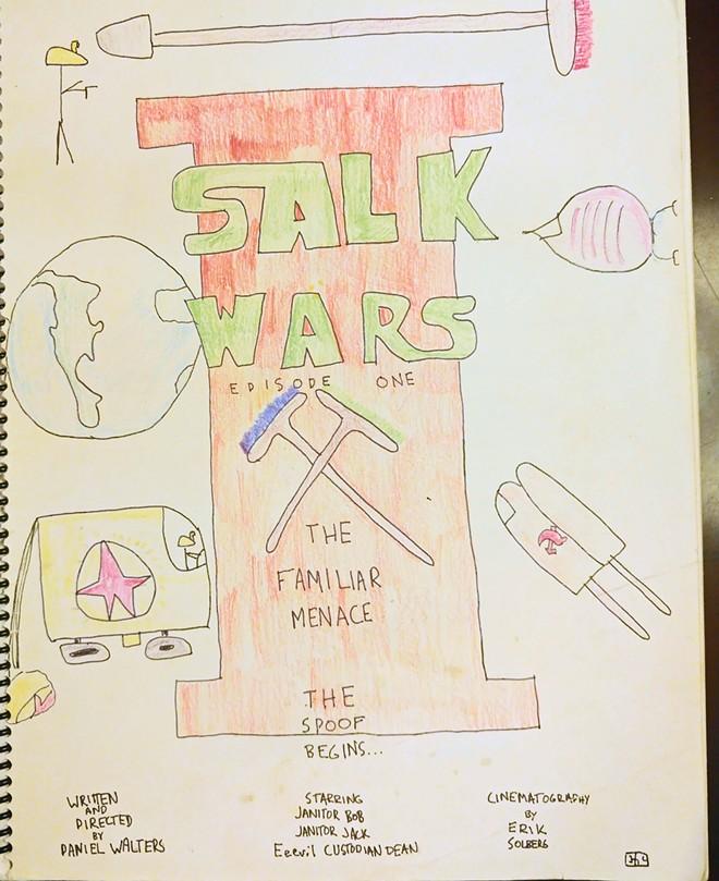 We all remember where we were when Salk Wars was published. - ERIK SOLBERG ILLUSTRATION