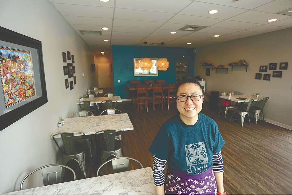 D'Bali Asian Bistro Owner Jeannie Choi. - YOUNG KWAK PHOTO
