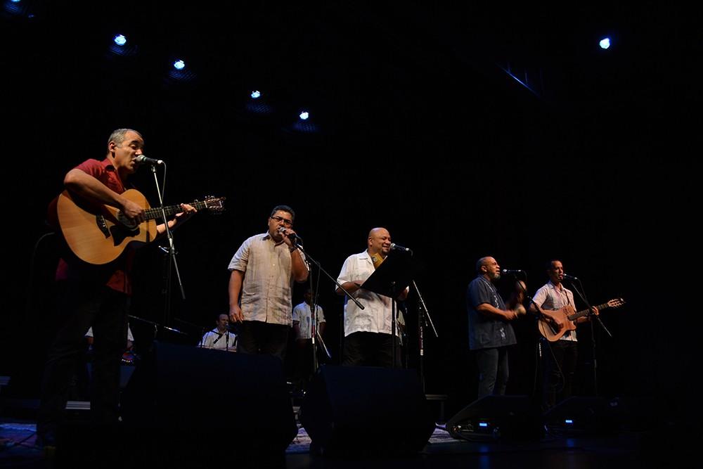 Kiki Valera (left) brings an all-star  Cuban band to Spokane Saturday.