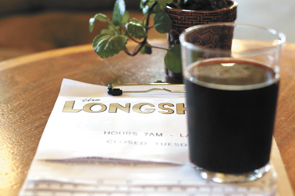 The Longshot is Sandpoint's newest cafe hangout. - CARRIE SCOZZARO