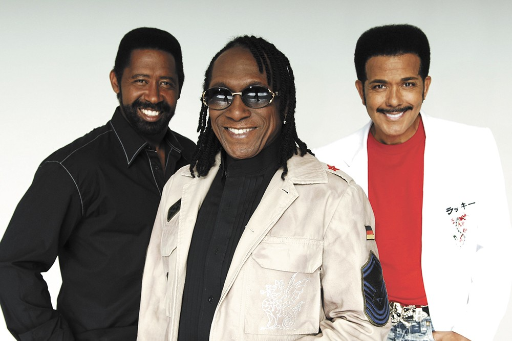 William King (left) helped found the Commodores in 1968, and he's still touring.
