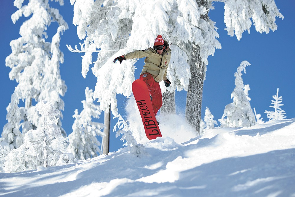 Ski Silver Mountain for only $12 on Friday, Jan. 10. - SILVER MOUNTAIN RESORT PHOTO