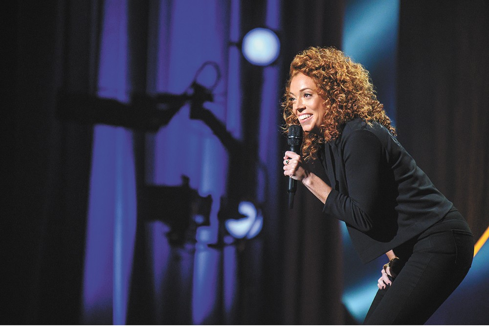 Michelle Wolf relaxes between scorching stand-up sets by running ultramarathons. Seriously.