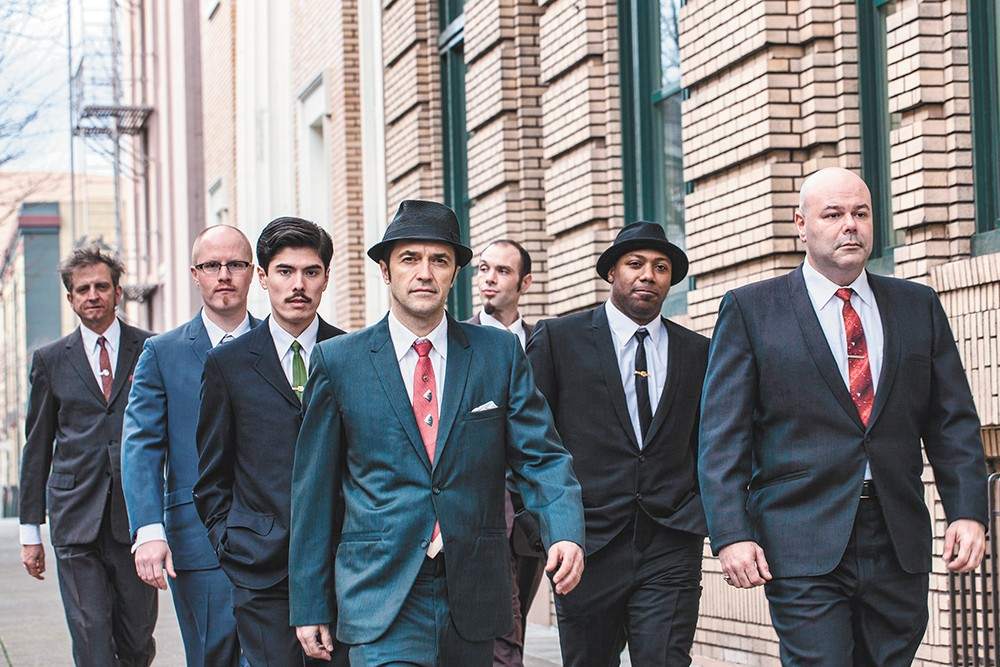 The Cherry Poppin' Daddies look like they'll fit right in with an orchestra. - ROD BLACK PHOTO