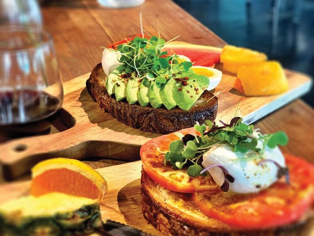 Avocado toast from the Walla Walla Bread Company. - WALLA WALLA BREAD COMPANY PHOTO