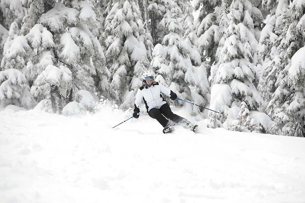 It ain't over yet! - SILVER MOUNTAIN RESORT PHOTO