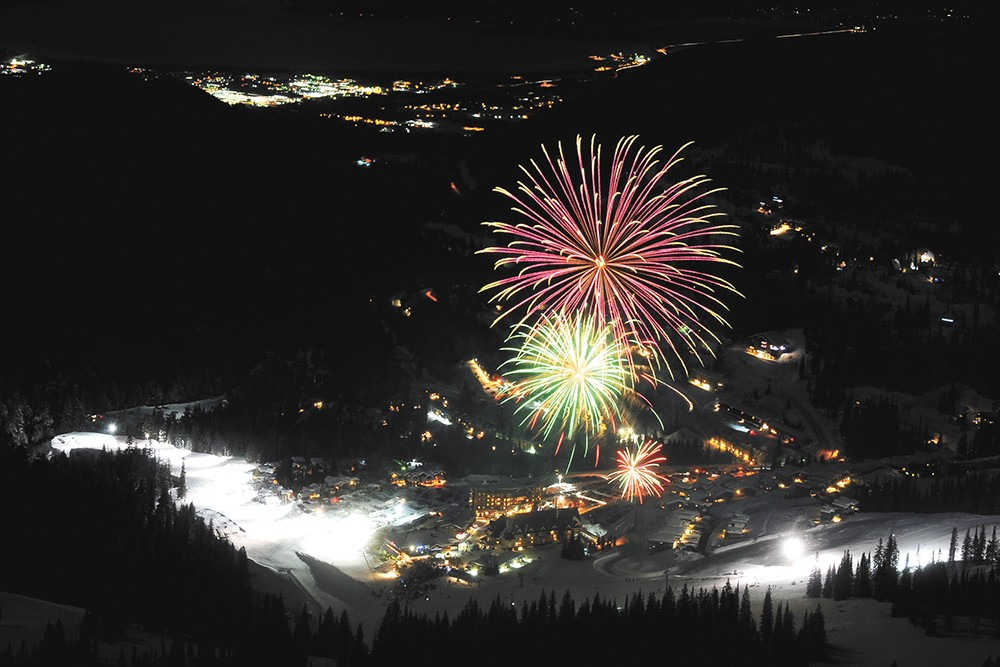 The Sandpoint Winter Carnival features a fireworks show at Schweitzer on Sunday, Feb. 16. - SCHWEITZER MOUNTAIN RESORT PHOTO