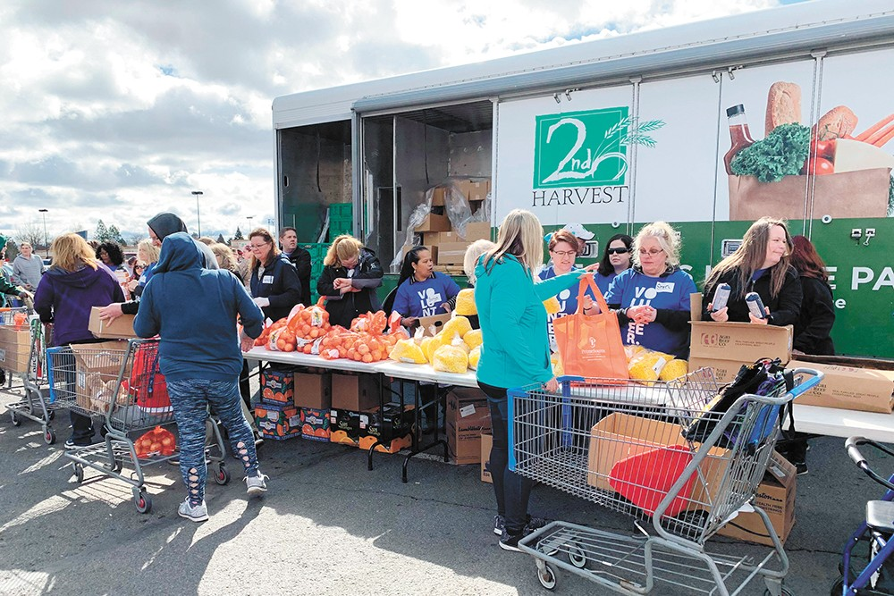 Second Harvest helps supply more than 250 food banks and other program across the Inland Northwest.