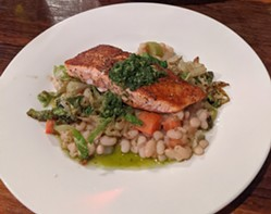 The most amazing salmon preparation I've had in ages. - CHEY SCOTT