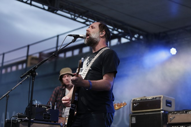 Doug Martsch of Built to Spill performing at the 2017 Volume Music Festival. The band plays Lucky You Lounge on June 20. - YOUNG KWAK